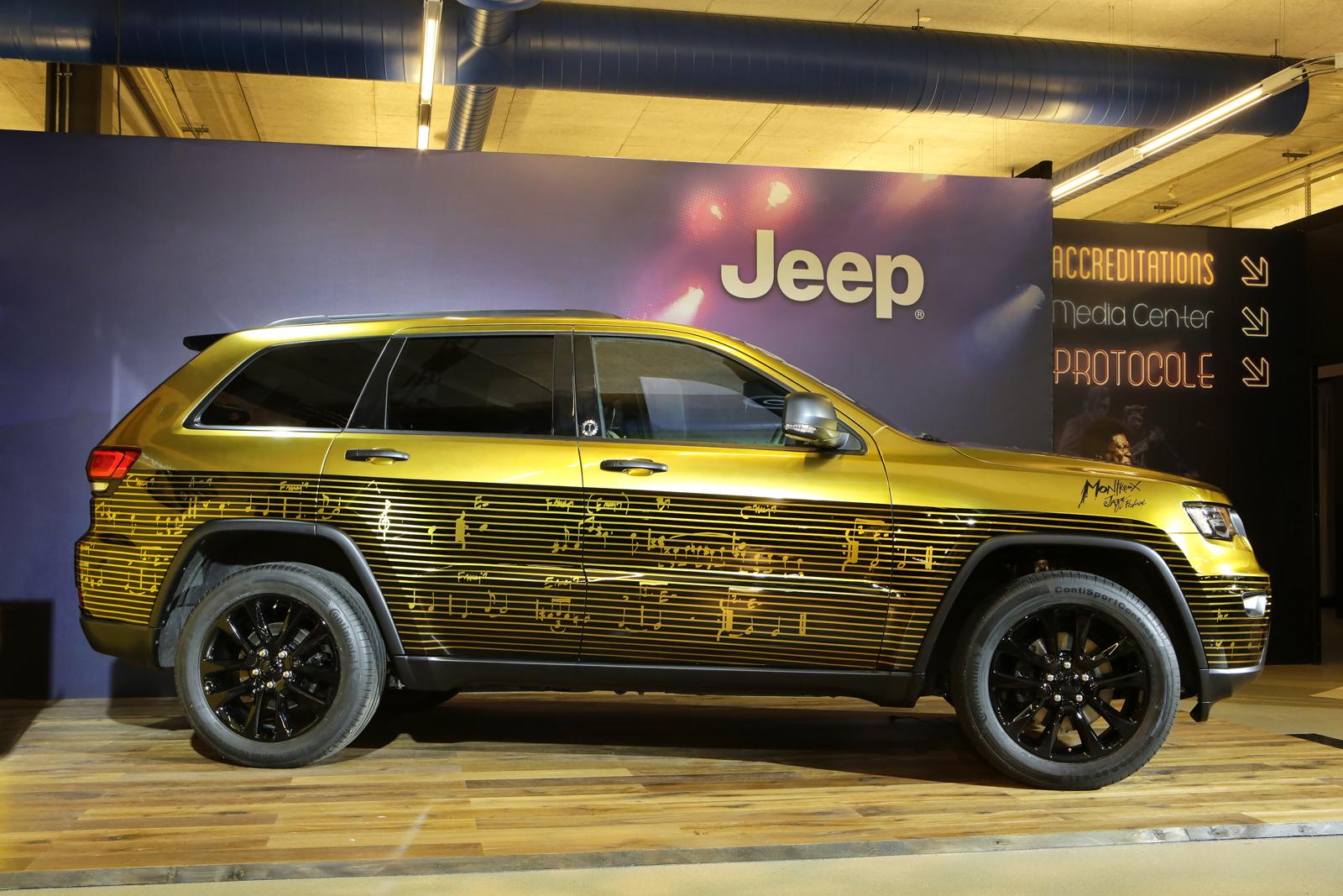 Jeep Montreux on Grand Cherokee Diesel Engine