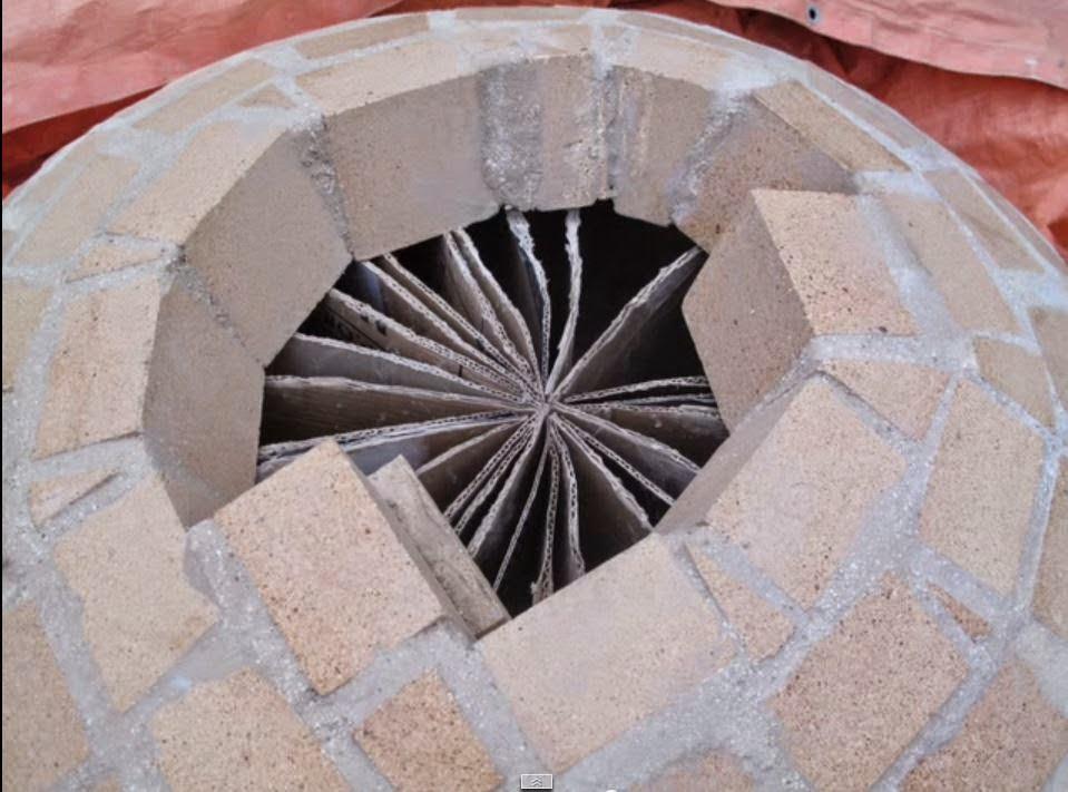 Cupola forni a legna for Mattoni refrattari per forno a legna