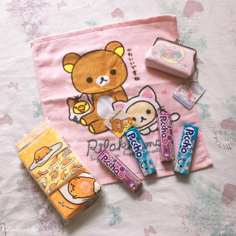 kawaii japanese sweets, sanrio, sanx, rilakkuma