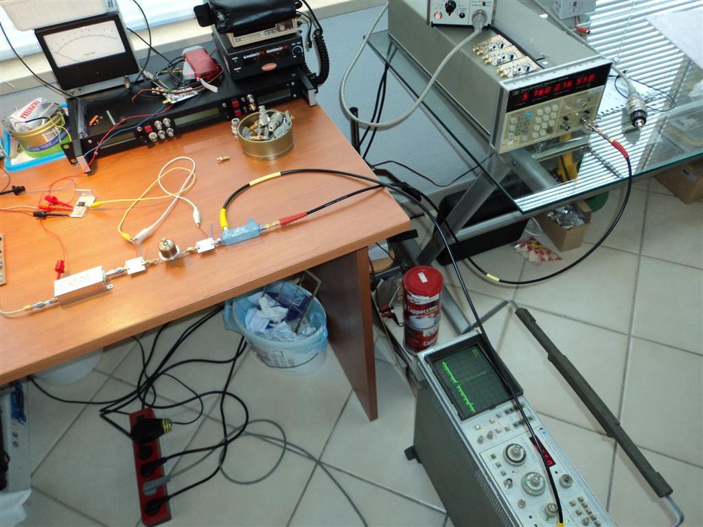Croatia microwave: Simple 6cm - 5760 MHz beacon