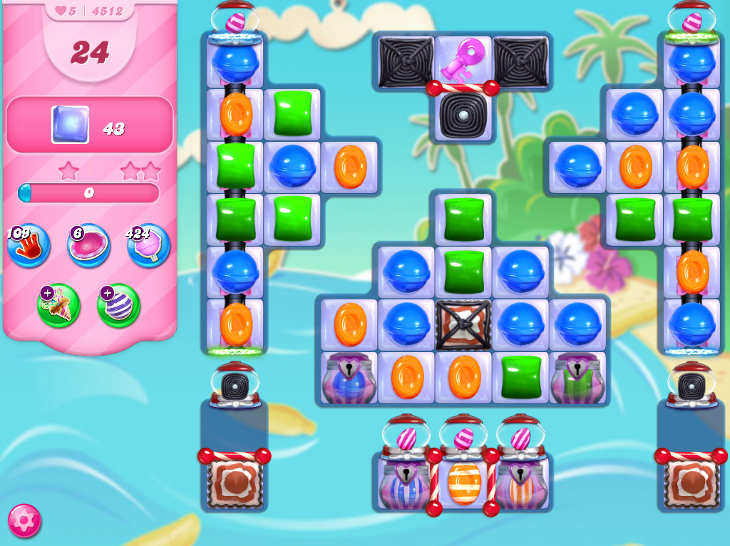Candy Crush Saga level 4512