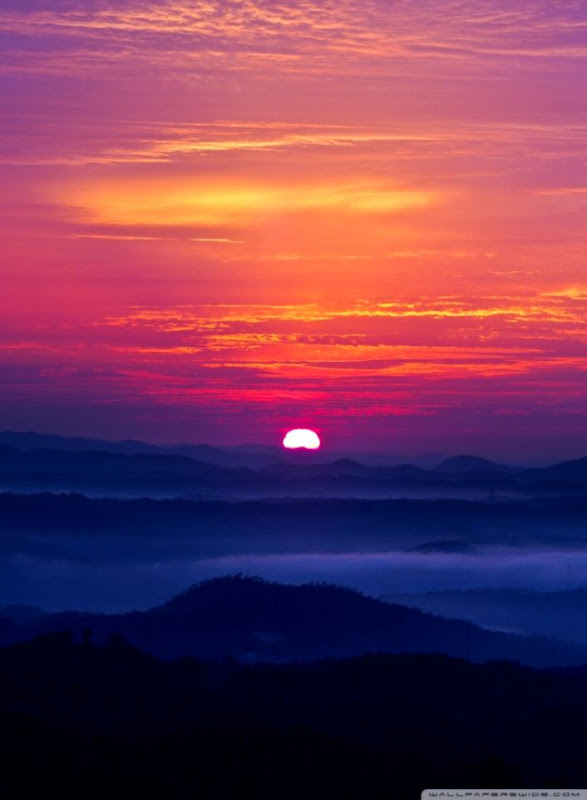 Mountain Sunset Wallpaper This Wallpapers