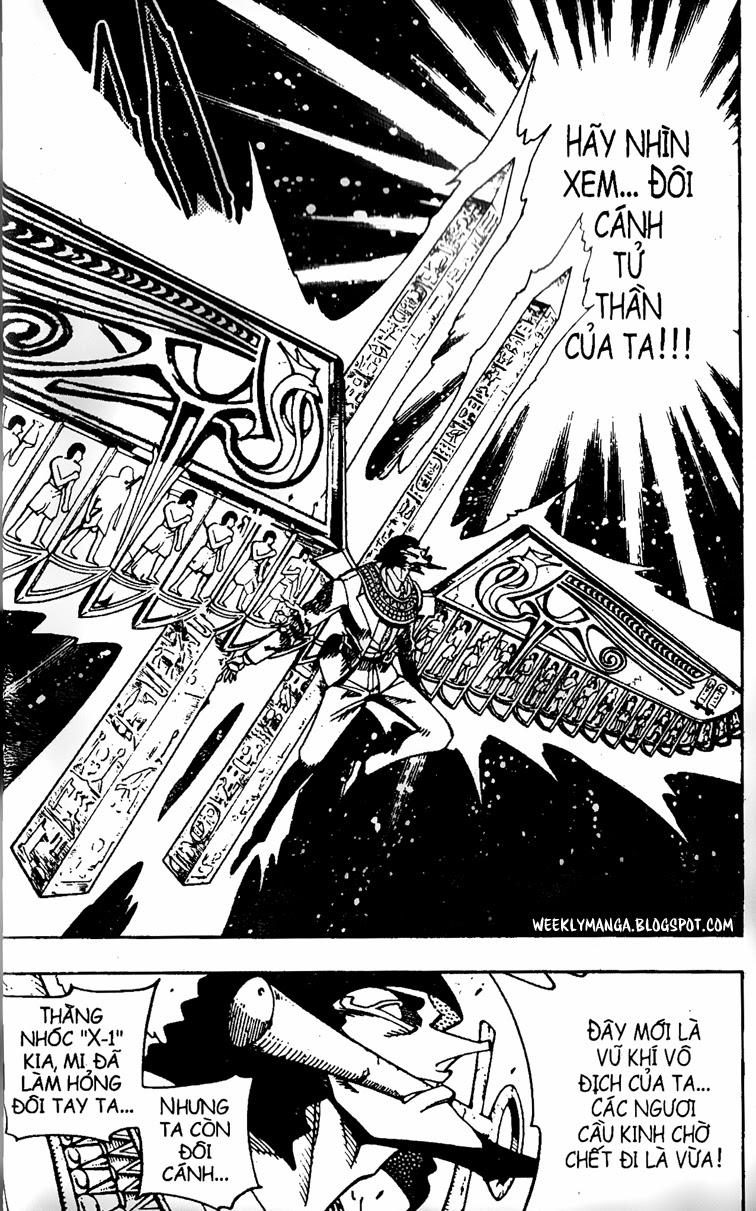 Shaman King [Vua pháp thuật] chap 123 trang 3