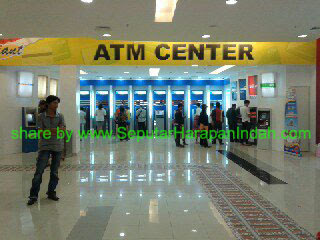 ATM Center di GIANT Harapan Indah