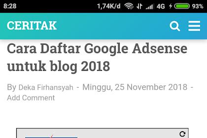 Punya akun Google Adsense belum tentu Kaya