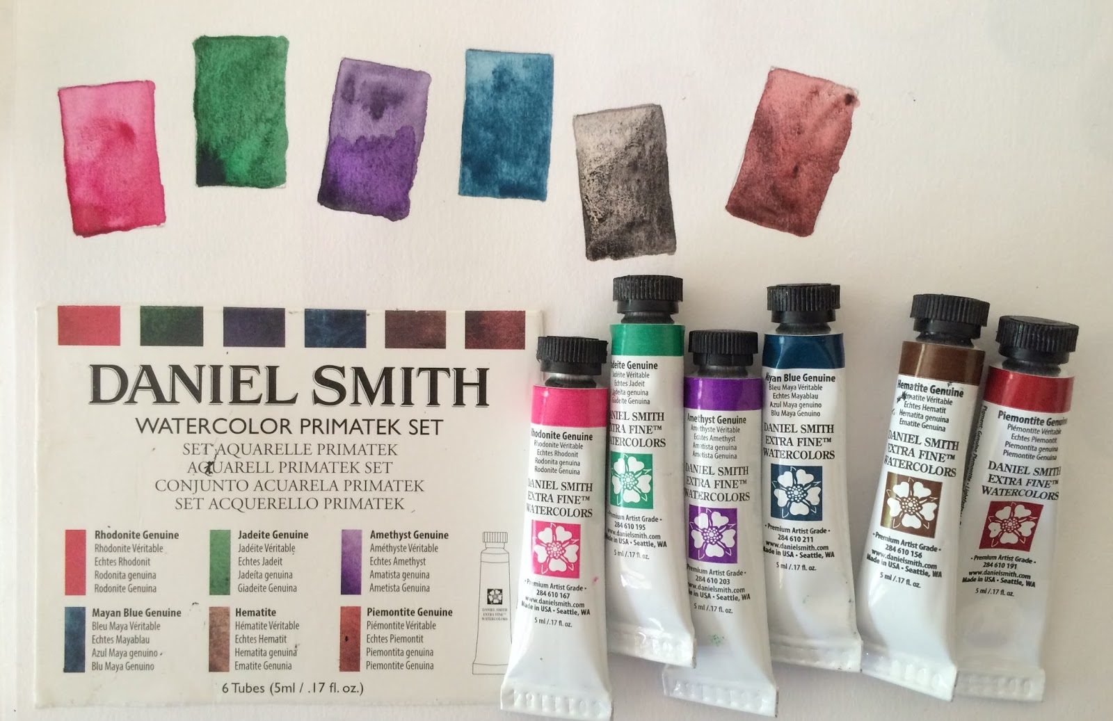 jane blundell artist daniel smith essentials a great set to get