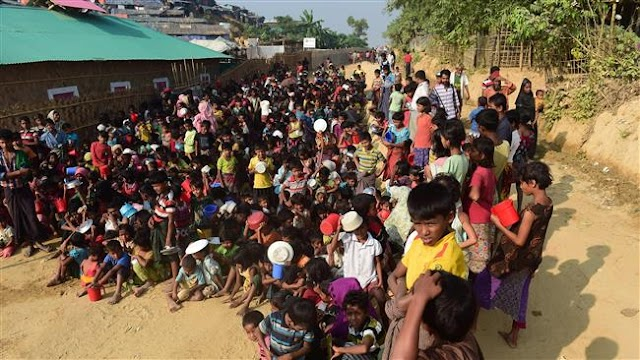 Rights groups urge international monitoring of Rohingya's return
