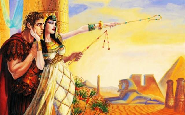 Kisah Cinta Cleopatra dan Mark Antony