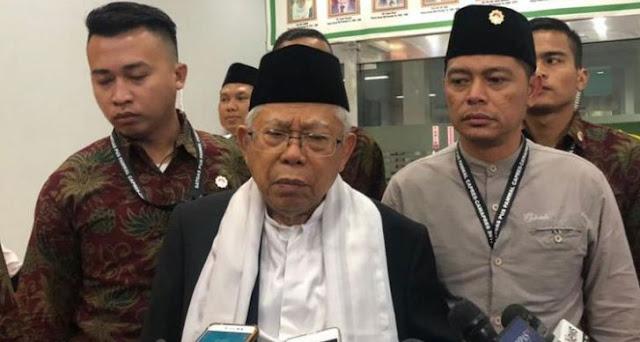 Ma'ruf Amin Malah Persulit Jokowi Jadi Presiden Lagi