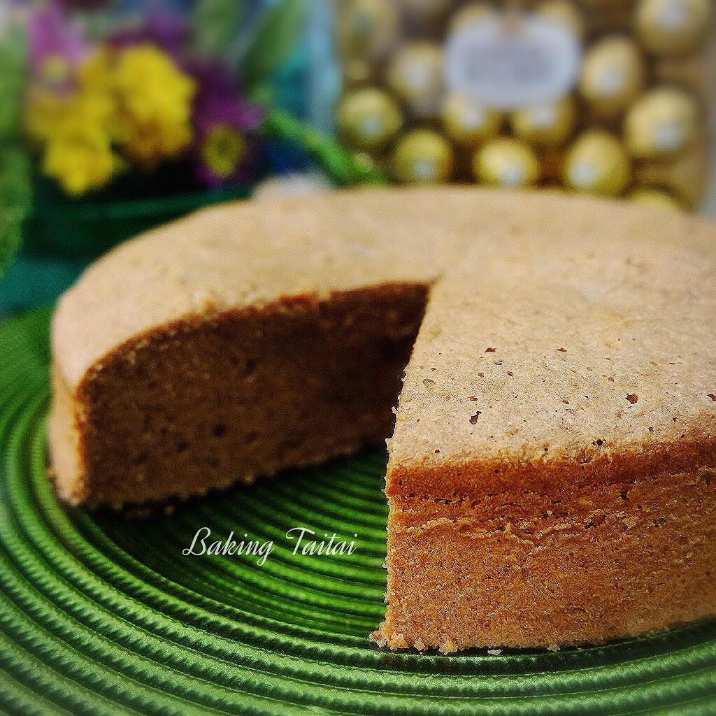 Baking Taitai Butter Cake