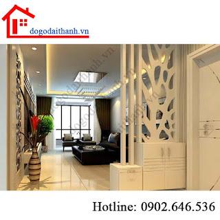 Lam gỗ nội thất và những mẫu vách ngăn cầu thang đẹp