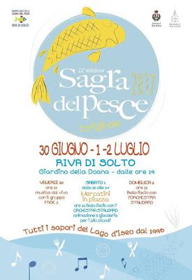 Sagra del pesce 30 giugno e 1-2 luglio Riva di Solto (BG)