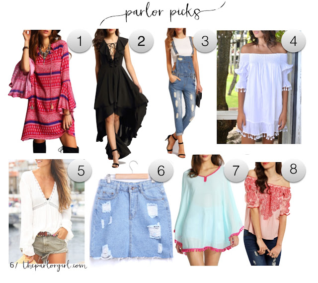parlor girl spring fashion picks
