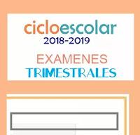 Exámenes Trimestrales Primaria 2018-2019