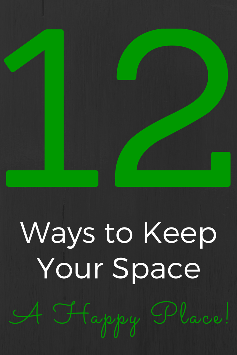 Keep your place a happy, clutter-free space! Try these tips to keep your home lighter and brighter. (The Health-Minded.com) #organization