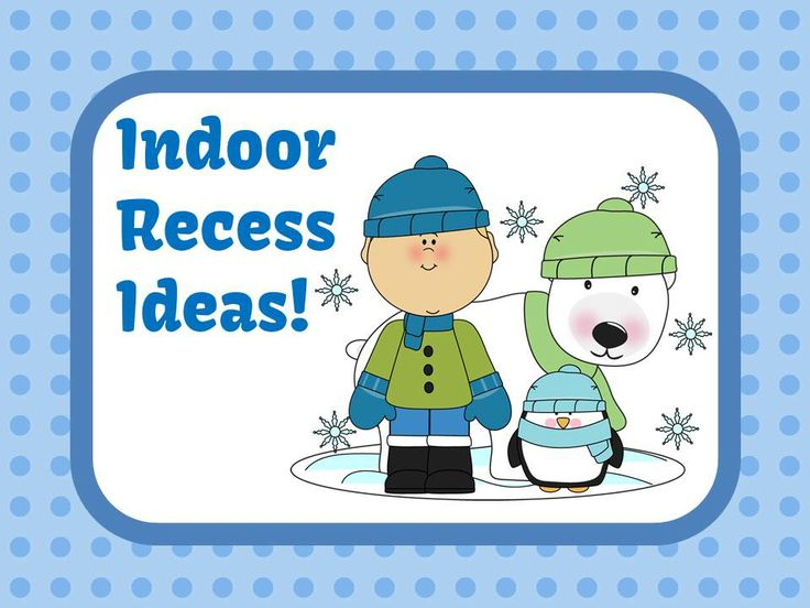 Fern Smith's Classroom Ideas Tuesday Teacher Tips: Indoor Recess Help!