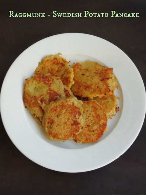 Swedish Potato pancake, Raggmunk