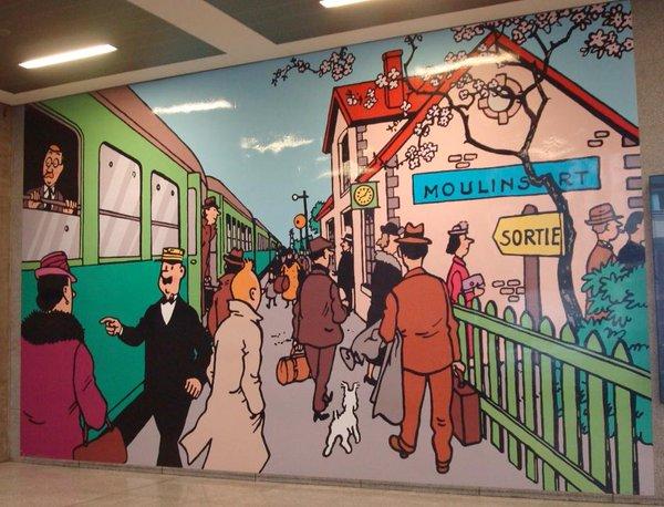 Gare Du Midi , Brussels , Belgium