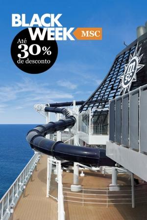Cruising online  MSC Cruzeiros lança Black Week com descontos de até 30% 3c97d0cfe30aa