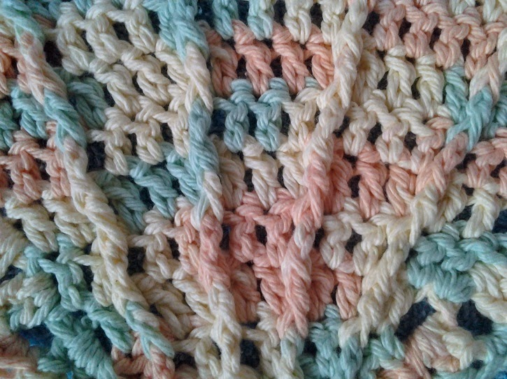Crochet Stitches Abbreviations Fpdc : Crochet is the Way: Free Pattern: Scallop Seashell Washcloths