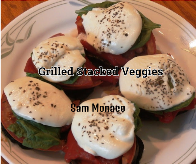 Low carb grilled veggies