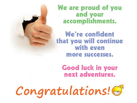 congratulations quotes on achievement