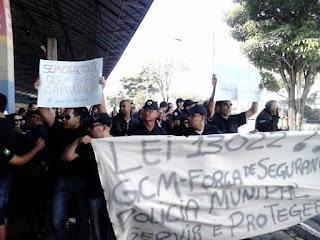 Prefeitura de Taubaté afasta, reprime e ameaça de demissão Guardas Civis por lutarem por melhorias