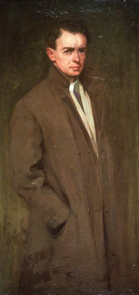 Hugh Douglas Williams, Self Portrait, Portraits of Painters, Hugh Douglas, Fine arts, Portraits of painters blog, Paintings of Hugh Douglas, Painter Hugh Douglas, Douglas Williams