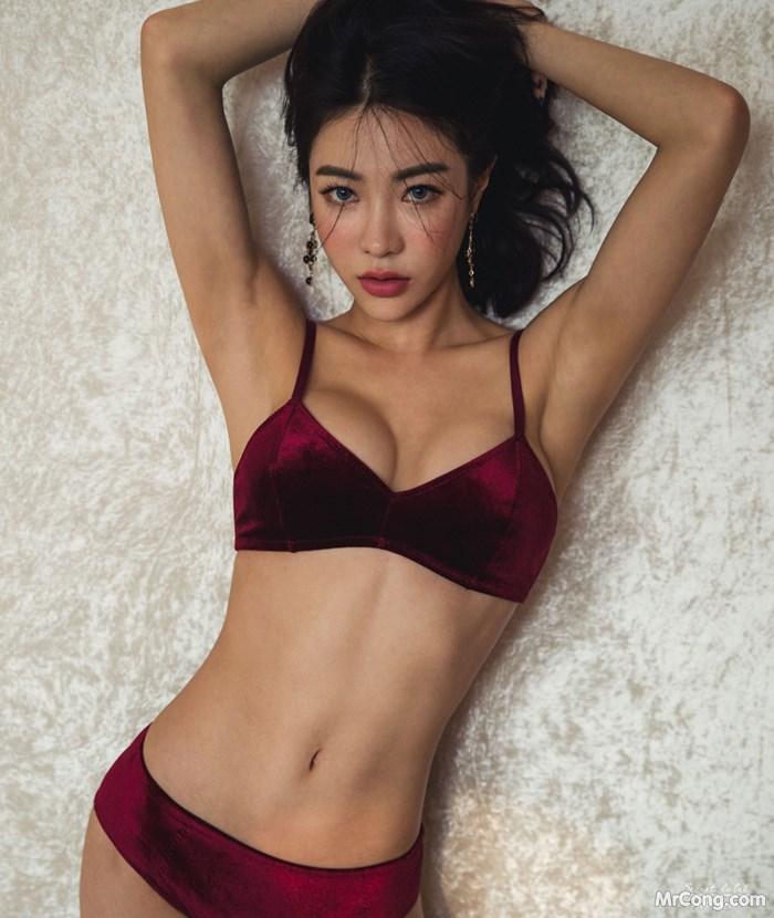 Image Korean-Model-An-Seo-Rin-012018-MrCong.com-018 in post Người đẹp An Seo Rin trong bộ ảnh nội y tháng 01/2018 (153 ảnh)