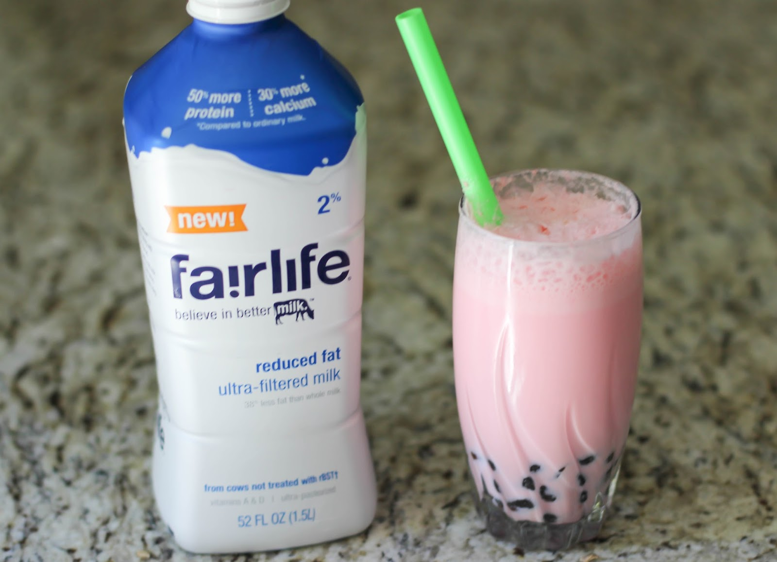 Delicious Strawberry Milk Bubble Tea Recipe by Atlanta blogger Casual Claire