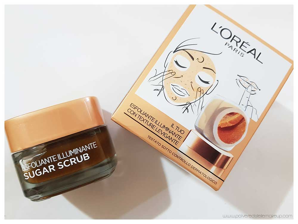 L'Oréal Sugar Scrub Illuminate