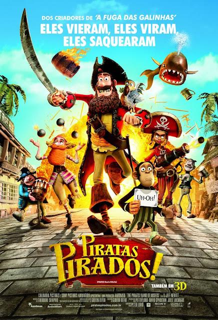 """Ponto MIS na Ilha apresenta a animação """"Piratas Pirados! """" sexta 20/10"""