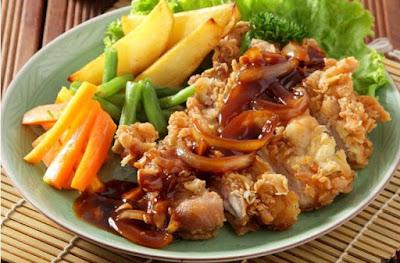 Cara Membuat Steak Ayam Ala Restoran