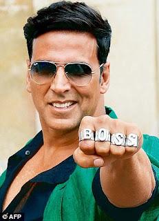 Akshay Kumar with Boss Ring Punch
