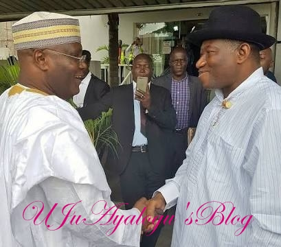 "2019: Jonathan 'Endorses' Atiku But Insists He MUST Reconcile With The ""Boss of the Bosses"""