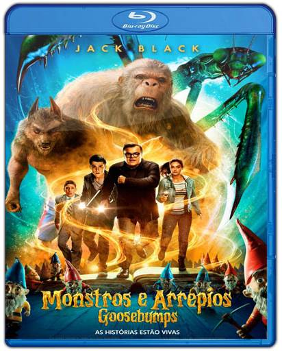 Baixar Goosebumps Monstros e Arrepios 720p Dual Áudio Bluray Torrent