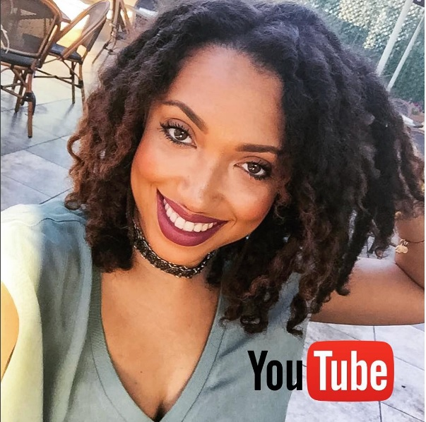 "Natural Hair Vlogger Taren Guy On ""Freeform Loc Journey"""