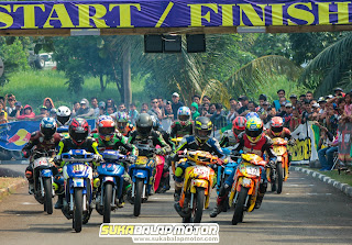 Bebek Goreng Racikan ZMRT Gaspoll Borong Podium Race Lampung dan Tangerang