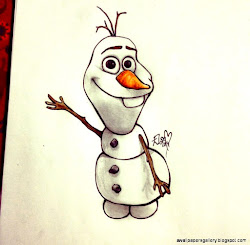disney drawings olaf drawing cartoon cartoons coloring animated pages