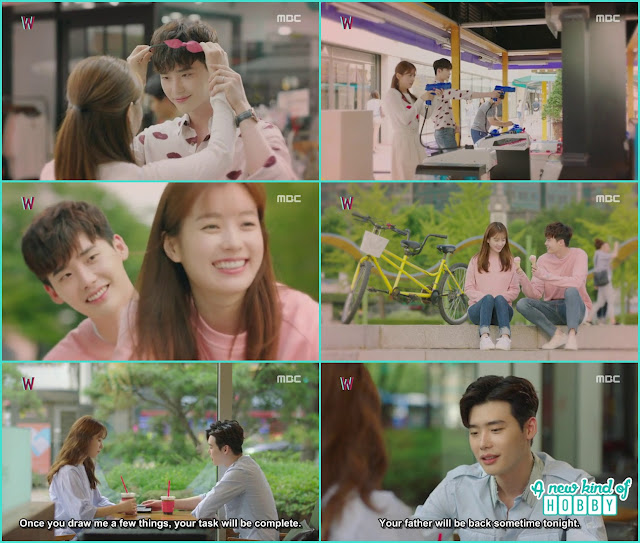 kang chul and yeon Joo date in the real world  - W - Episode 13 Review - The Hypothesis & Unexpected Twist