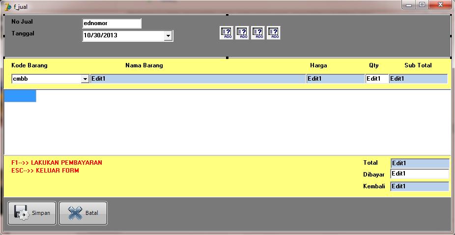 Cara Menampilkan Data Dari Database Ke Combobox Delphi