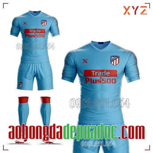 Áo Atlentico Madrid 2019 Sân Khách Mẫu 2