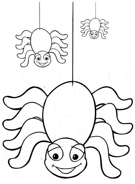 Desenhos De Aranhas Para Halloween Desenhos
