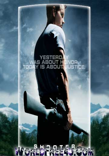 Poster Of Shooter (2007) Full Movie Hindi Dubbed Free Download Watch Online At worldfree4u.com