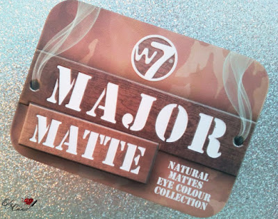 Paleta-major-matte-w7-review