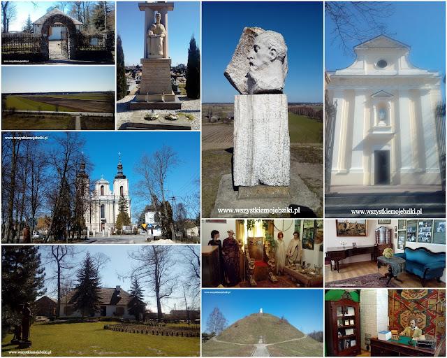 Wycieczkowo:rodzinne strony H. Sienkiewicza-Wola Okrzejska,Okrzeja,Wola Gułowska