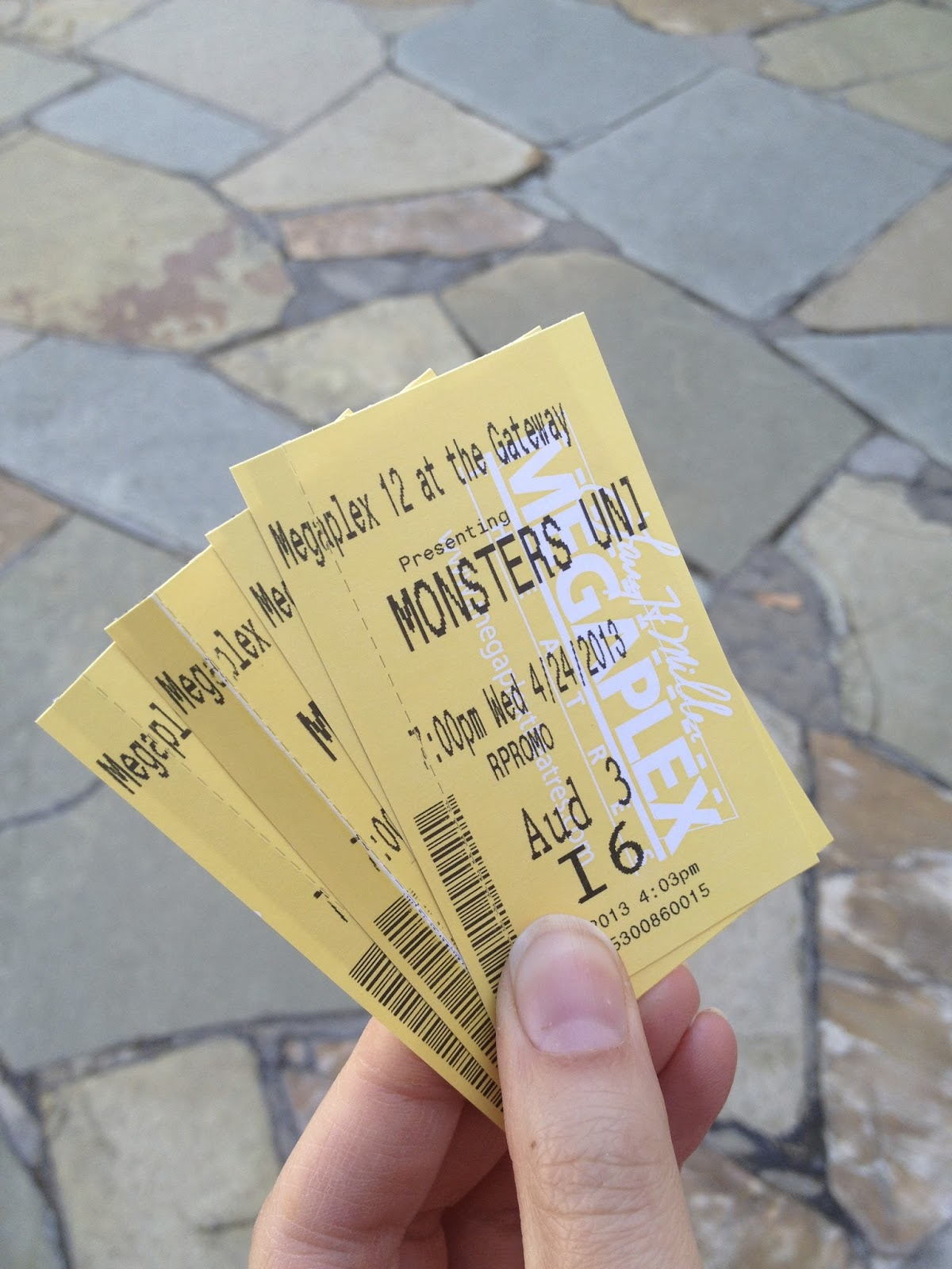 monsters university college advanced screening