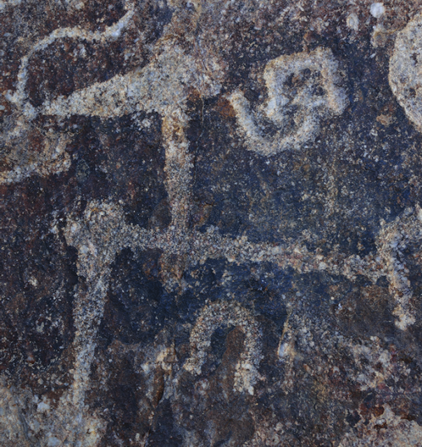 Rock art carved on volcanic stone discovered on Iranian mountain