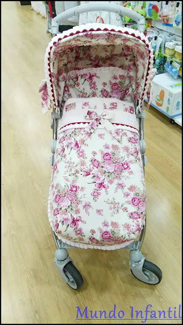 funda flores silla Bebecar Spot