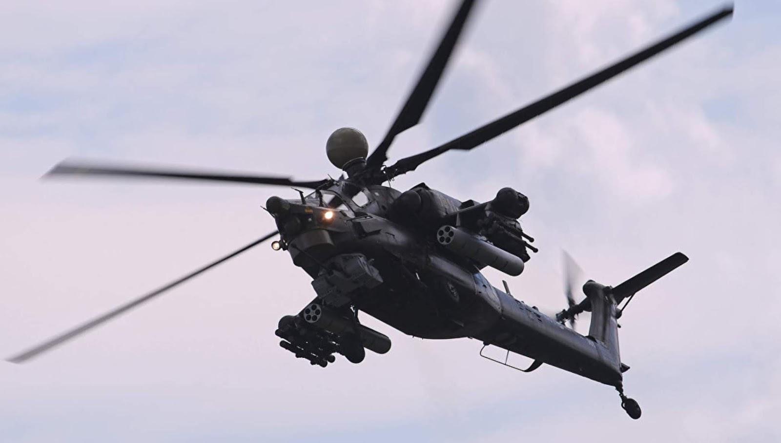 Terpedo baru dan helikopter Mi-28NM siap masuk ke militer Rusia